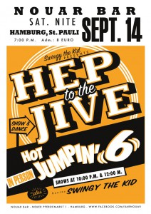 Hep to the Jive mit den Hot Jumpin' 6