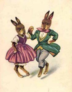 Swingmusik, Picknick und Tanz.
